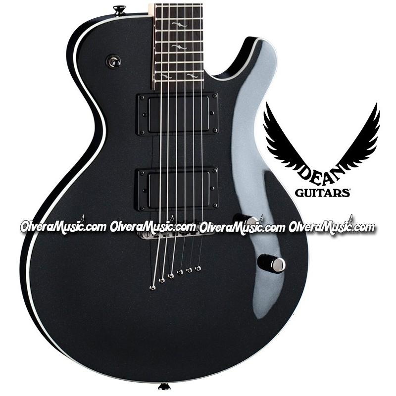 Dean guitars guitarra electrica deceiver x carb n for Luthier guitarra electrica