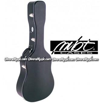 MBT CASES Hardshell Wooden Acoustic Guitar Case