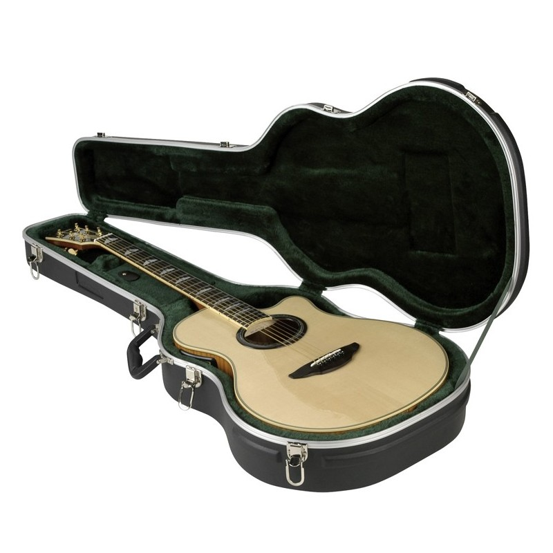 skb thin line acoustic classical guitar case olvera music. Black Bedroom Furniture Sets. Home Design Ideas