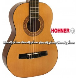 HOHNER Student 1/2 Classical Acoustic Guitar - Natural Gloss Finish