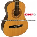 HOHNER Student 3/4 Size Classical Acoustic Guitar - Natural Gloss Finish