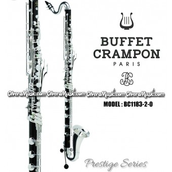 "BUFFET ""Prestige"" Series Professional Bb Bass and Harmony Clarinet"