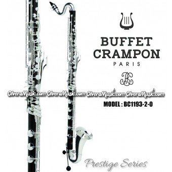 "BUFFET ""Prestige Series"" Professional Bass and Harmony Bb Clarinet"