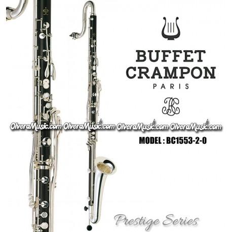BUFFET Prestige Series Professional Contra Alto Eb Clarinet