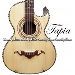 TAPIA Traditional Bajo Quinto - Walnut Wood