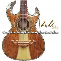 ALI ACHA Professional Bajo Quinto Palo Escrito Wood