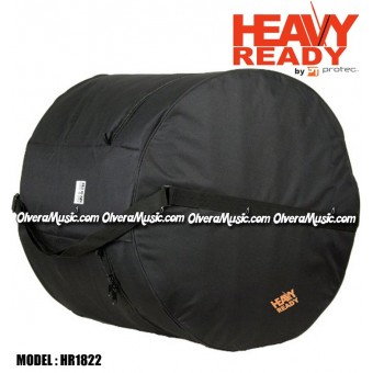 """HEAVY READY Series by Protec Economic Padded Bass Drum Bag 18""""x22"""""""