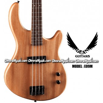 DEAN GUITARS Edge 09M Bass Guitar - Satin Natural