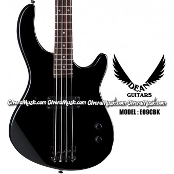 DEAN GUITARS Edge 09 Bass Guitar - Classic Black