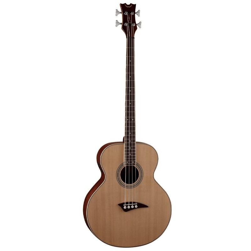 dean guitars acoustic electric bass guitar natural olvera music. Black Bedroom Furniture Sets. Home Design Ideas