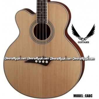 DEAN GUITARS Acoustic/Electric Bass w/Cutaway