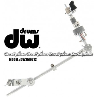 DW 1/2in by 18in Boom Arm w/Adjustable Hi-Hat Clutch