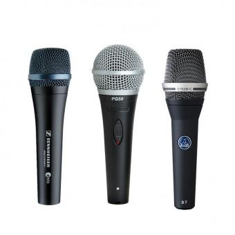 •Microphones
