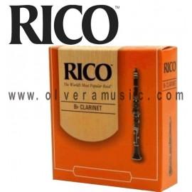 RICO Caña Bb para Clarinete - Caja de 10