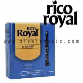 RICO ROYAL Cañas Bb para Clarinete - Caja de 10