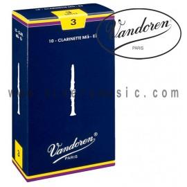 VANDOREN Cañas Bb para Clarinete - Caja de 10