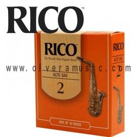 Rico Cañas para Saxofon Alto