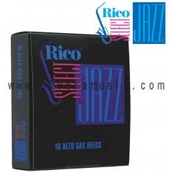 Rico Select Jazz Cañas para Saxofon Alto