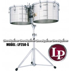 """LP Thunder 15"""" y 16"""" Tito Puente Timbales - Cromados"""