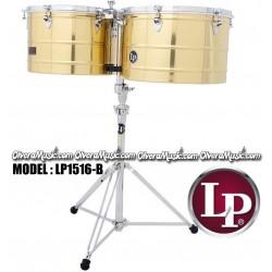 """LP Prestige Timbales 15"""" y 16"""" - Dorados"""