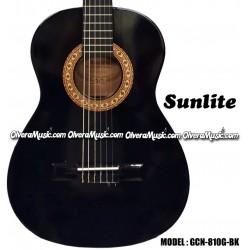 SUNLITE Guitarra Clásica de 3/4 - Negra