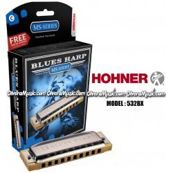 HOHNER Blues Harp Armonica - Series MS