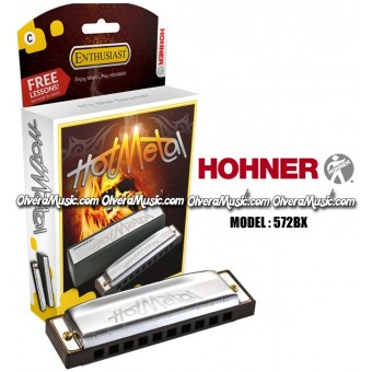 HOHNER Hot Metal Armónica