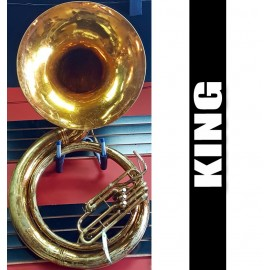 !!Price Reduced!! KING BBb Metal Sousaphone Lacquer Finish (USED)