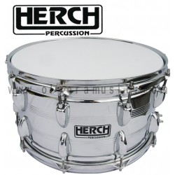 HERCH Snare 14X8 Chrome Finish 10-Lug