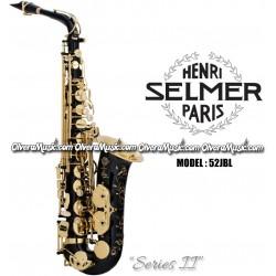 """SELMER PARIS """"Serie II"""" Edicion Jubilee Saxofón Alto Profesional - Lacquer Negro"""