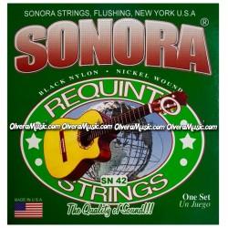 SONORA Cuerdas p/Requinto