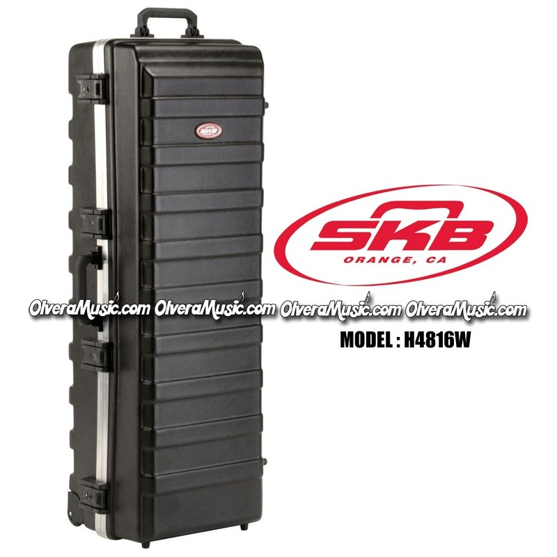 Skb Ata Rail Pack Large Stand Case W Built In Wheels 48