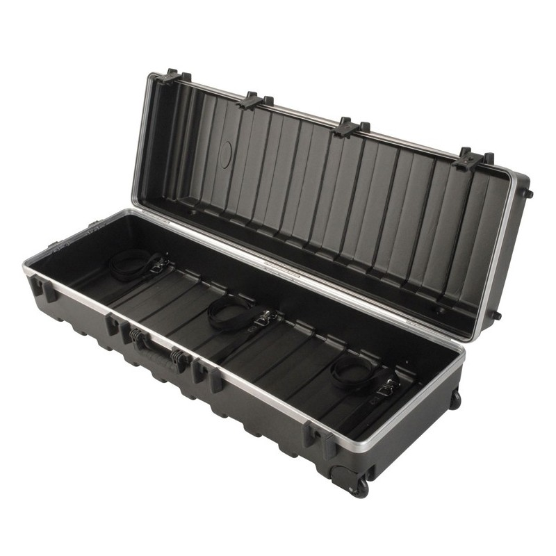 Skb ata rail pack large stand case w built in wheels 48 for Stand pack