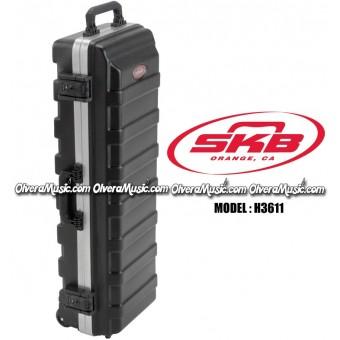 """SKB ATA Rail Pack Trap Case w/Built in Wheels 36""""x11"""""""