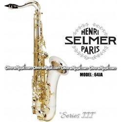 """SELMER PARIS """"Serie III"""" Edición Jubilee Saxofón Tenor Profesional - Plata"""