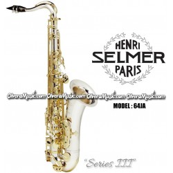 "SELMER PARIS ""Series III"" Jubilee Edition Professional Bb Tenor Saxophone - Sterling Silver"