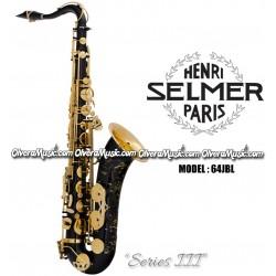 """SELMER PARIS """"Serie III"""" Edición Jubilee Saxofón Tenor Profesional - Lacquer Negro"""