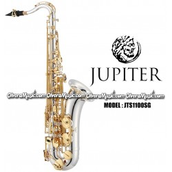 JUPITER Professional Tenor Saxophone - Silver Plated w/Lacquered Keys