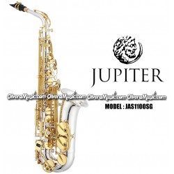 JUPITER Professional Eb Alto Saxophone - Silver Plated w/Lacquered Keys