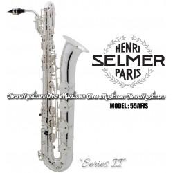 """SELMER PARIS """"Serie II"""" Edición Jubilee Saxofón Baritono Profesional - Plateado"""