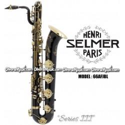 """SELMER PARIS """"Serie III"""" Edición Jubilee Saxofón Baritono Profesional - Lacquer Negro"""