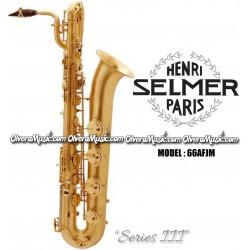 """SELMER PARIS """"Serie III"""" Edición Jubilee Saxofón Baritono Profesional - Lacquer Mate"""