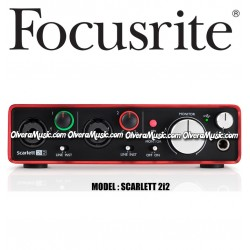 FOCUSRITE Scarlett 2i2 2nd Generation USB Audio Interface