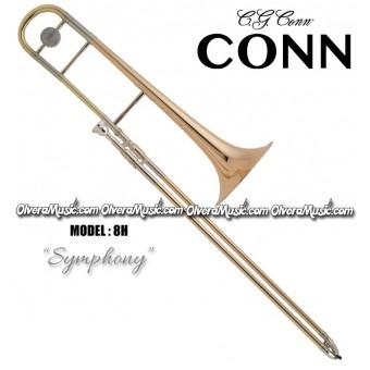"""CONN """"Symphony"""" Trombón Tenor Profesional de Vara - Lacquer"""