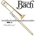 "BACH ""Stradivarius"" Professional Bb Slide Tenor Trombone - Lacquer Finish"