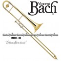 BACH Stradivarius Professional Tenor Slide Trombone - Lacquer Finish