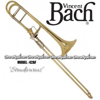 BACH Stradivarius Profesional Slide Tenor Trombone - Lacquer Finish