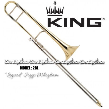 "KING ""Legend - Jiggs Whigham"" Professional Slide Tenor Trombone - Lacquer Finish"