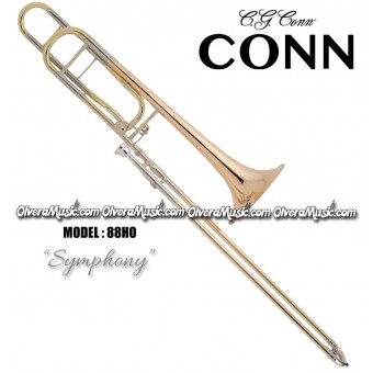 "CONN ""Symphony"" Professional Slide Tenor Trombone - Lacquer Finish"
