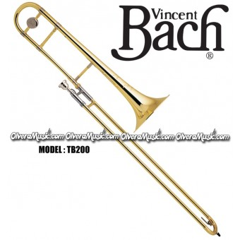 BACH Intermediate Bb Slide Tenor Trombone - Lacquer Finish